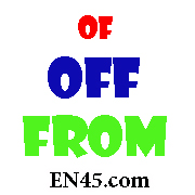 تفاوت بین Of.Off.From